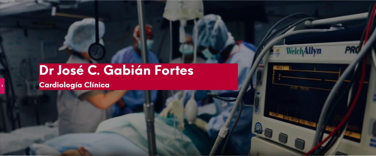 Dr Jose C Gabian Fortes